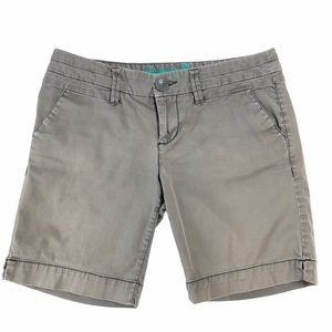 """American Eagle Live Your Life Chino Shorts 7"""" Gray"""